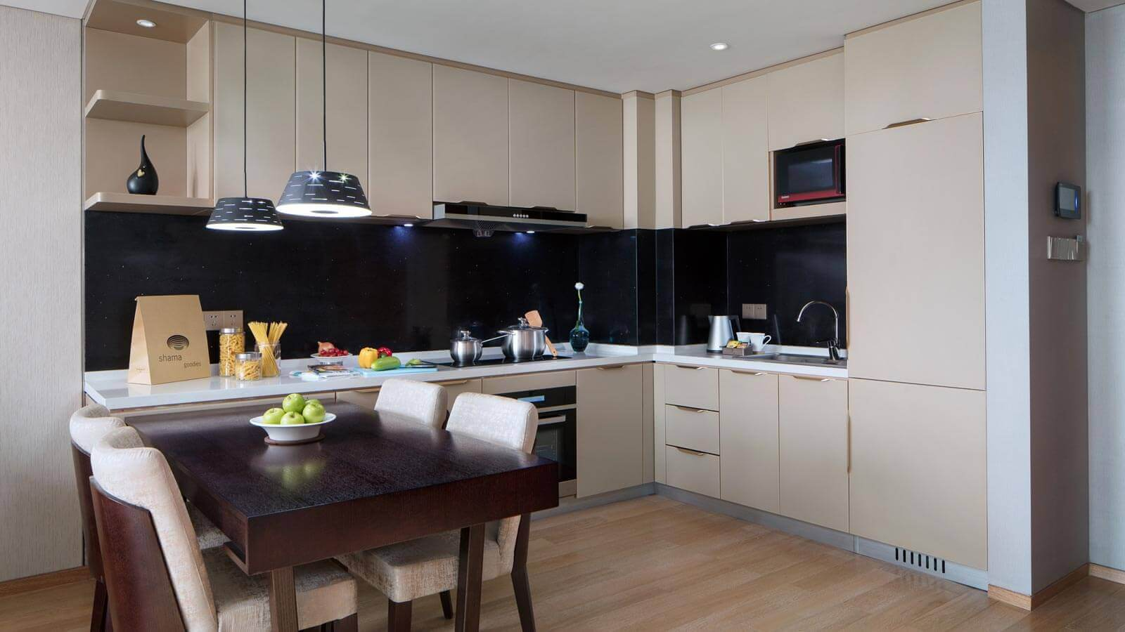 One Bedroom - Kitchen and Dining Area
