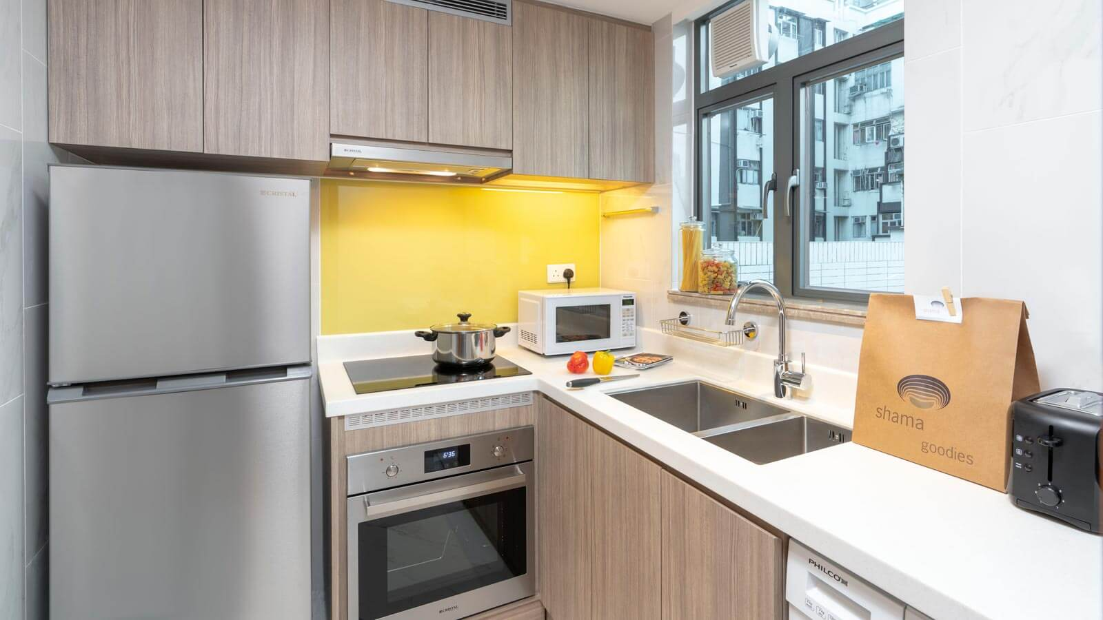 Two Bedroom with Terrace - Kitchen