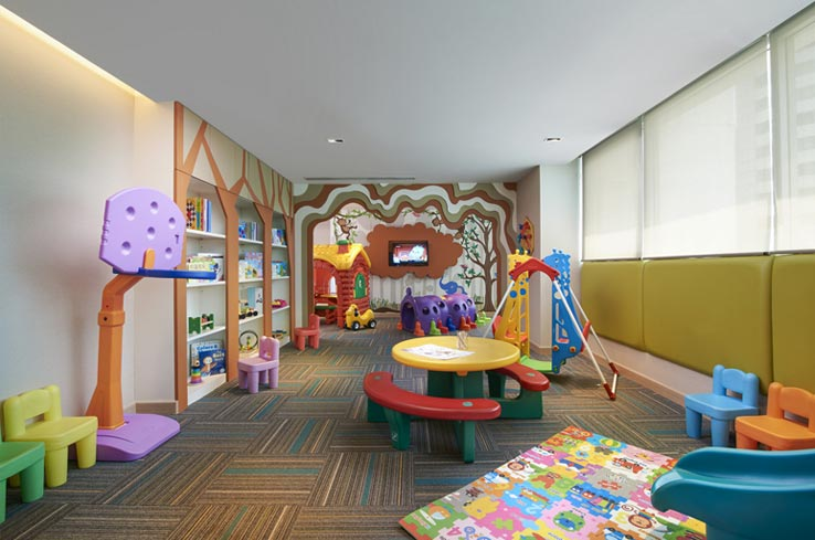 Kids Playroom - Shama Lakeview Asoke Bangkok