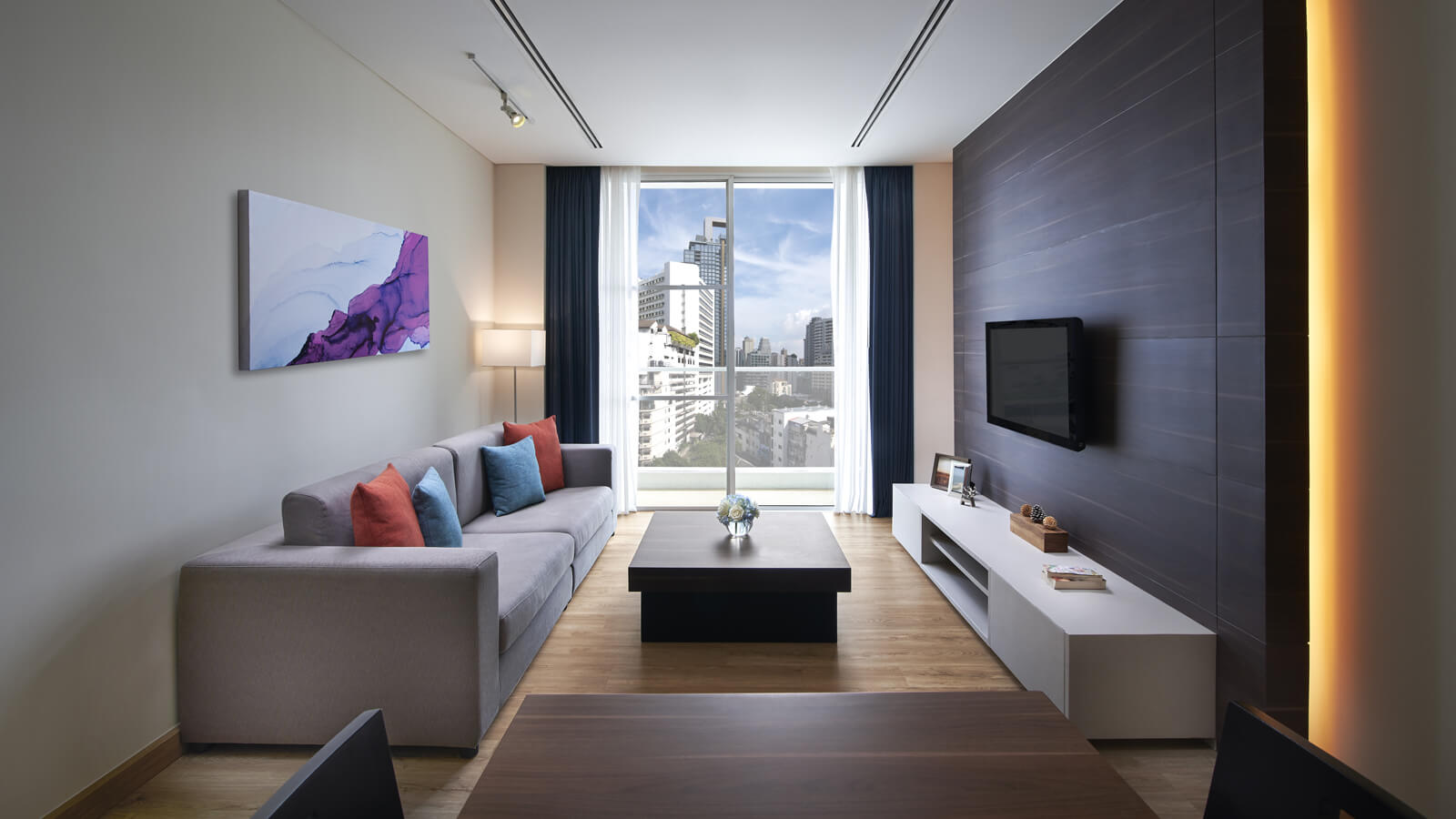 One Bedroom - Separate living and dining room