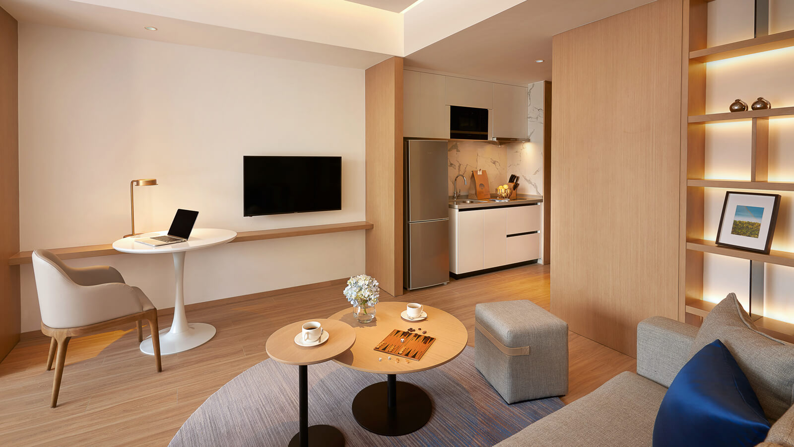 Studio Deluxe - Living Area and Kitchenette